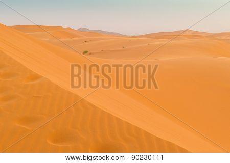 Dunes Erg Chebbi near Merzouga, Morocco