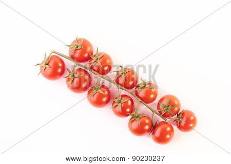Cherry Tomatoes On The Branch
