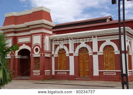 Railway station in Granada, Nicaragua