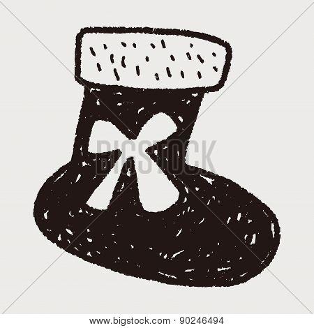 Christmas Socks Doodle