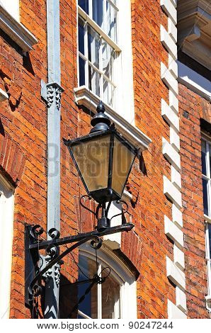 Lantern on building, Shrewsbury.