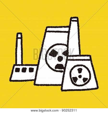 Environmental Protection Concept; The Factory Do Well On Emission To Not Pollute The Air And Environ