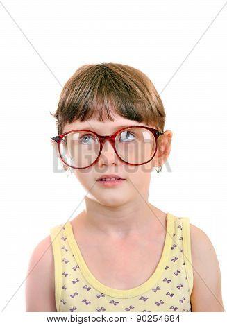 Little Girl In The Glasses
