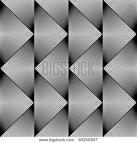 Design Seamless Triangle Geometric Pattern