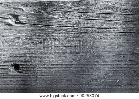 Old Wooden Lining Boards Wall
