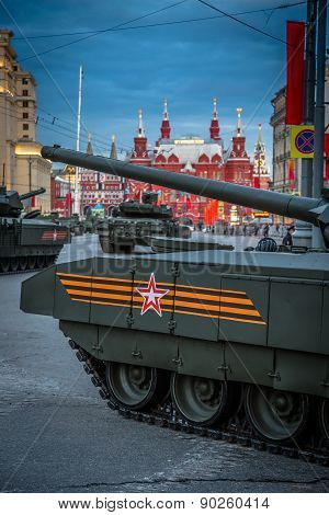 Armata T-14 Main Russian Battle Tank