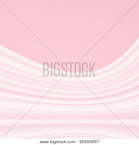 Pink curved lines background