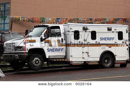 Sheriff Truck