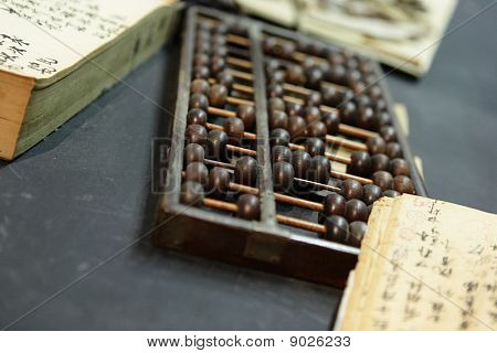 Abacus In Old Shop