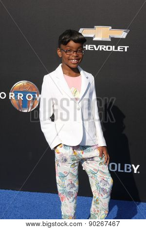 LOS ANGELES - MAY 9:  Marsai Martin at the
