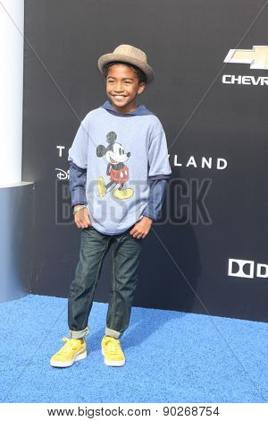 LOS ANGELES - MAY 9:  Miles Brown at the