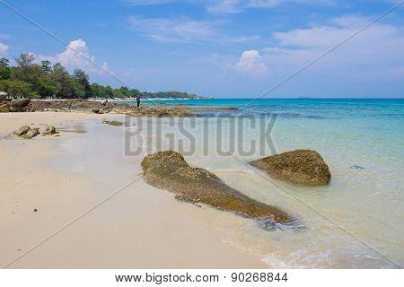 Beach on Samed island
