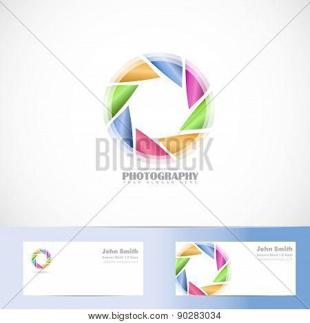 Photography  Shutter Aperture Logo