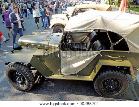 Soviet World War Ii All-wheel-drive Vehicle Gaz-67