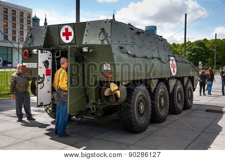 ROSOMAK Medical Evacuation Vehicle
