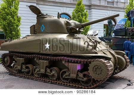 M4 Sherman medium Tank, Canadian Version