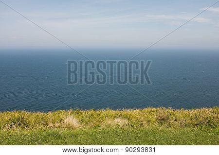 Sky Ocean Grass