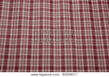 Checkered Picnic Tablecloth. Seamless Pattern - Vintage Style