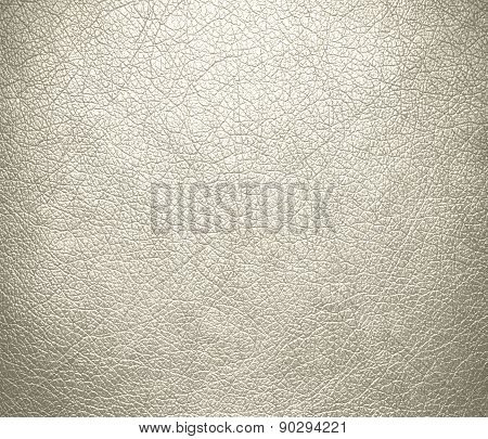 Cosmic latte color leather texture background