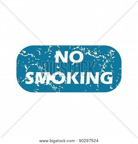 Grunge no smoking icon