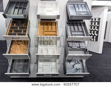 Cases for kitchen utensils