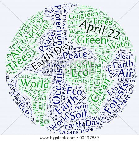 Earth Day - Word Cloud