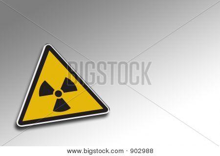 Alerta radioativo