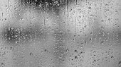 image of raindrops  - Raindrops on the window abstract background - JPG