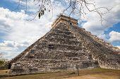 foto of yucatan  - El Castillo  - JPG