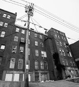 picture of ugly  - Old brick industrial building - JPG