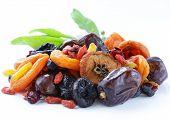 foto of prunes  - Assorted dried fruits  - JPG