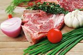picture of red meat  - fresh raw meat  - JPG