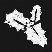 pic of poinsettias  - Poinsettia Doodle - JPG