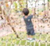 picture of public housing  - Defocused and blur image of children - JPG