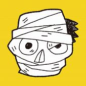 pic of mummy  - Mummy Doodle - JPG