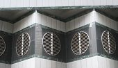 Modern Architecture Detail Air Vent poster