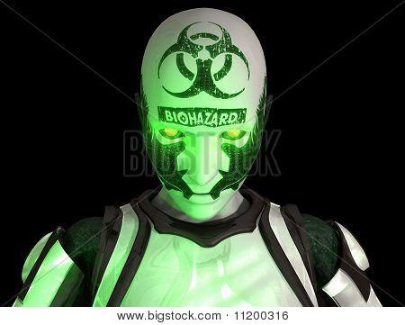 Bio Warfare Cyborg Soldat