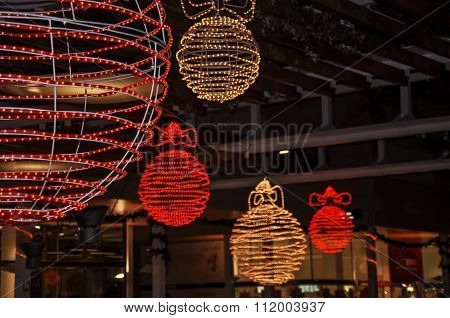 Street Christmas Decorations.
