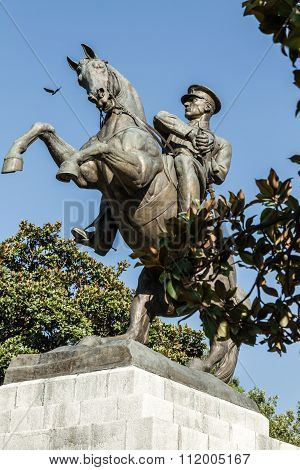 Statue Of Honor Dedicated To The Landing Of Ataturk In Samsun