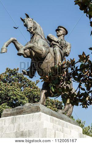 Statue Of Honor Dedicated To The Landing Of Ataturk In Samsun