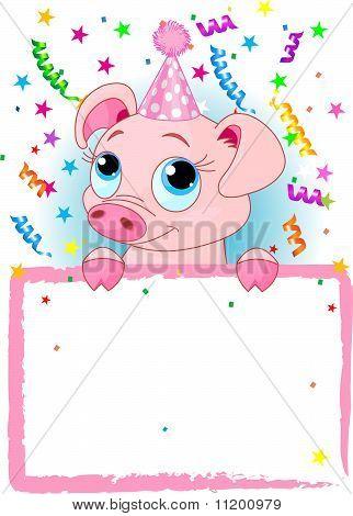 Piglet Birthday