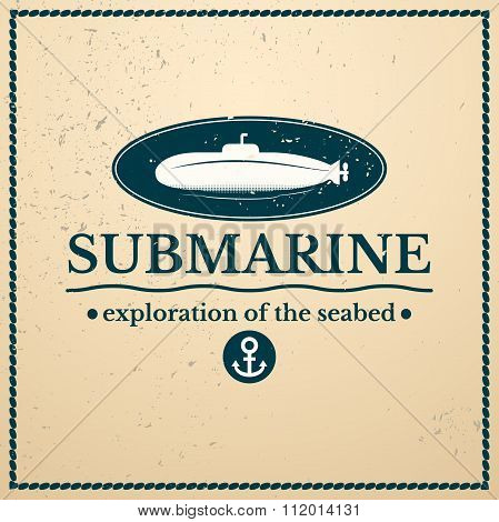 Label submarine, exploration of the seabed