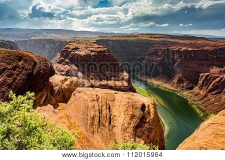 Horseshoe Bend Arizona Panorama