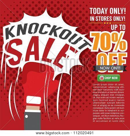 Knockout Sale Promotion.