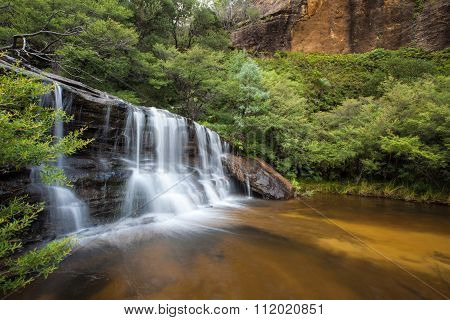 Wentworth Falls, Upper Section Blue Mountains, Australia