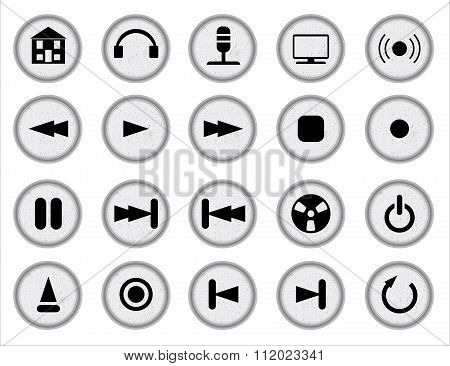 Web Audio Icon Set