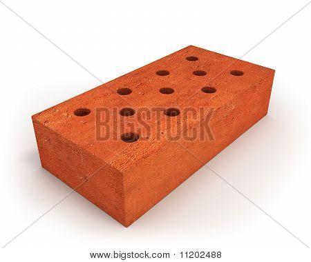 Single Orange Brick
