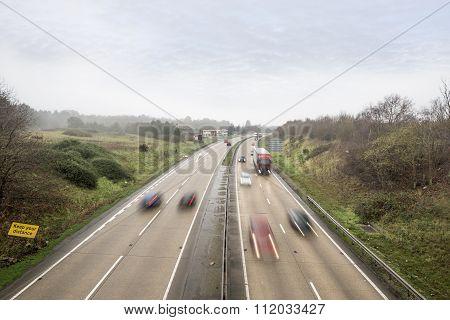 Fast Main Road Traffic