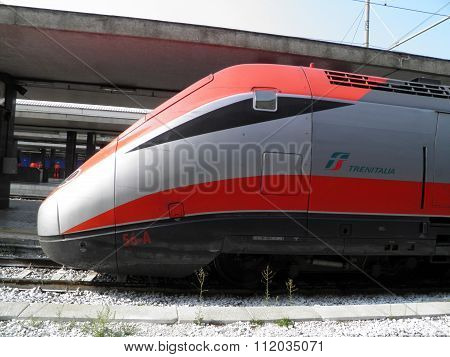 Frecciarossa Highspeed Train