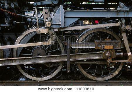 Oscillating Crank Of Locomotive